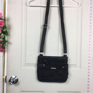 Rosetti Messenger Crossbody Bag Black
